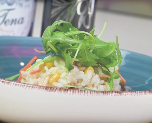 Ensalada arroz aroma azahar