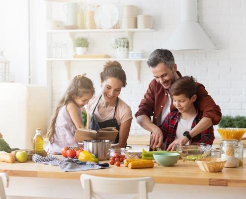 Recetas para hacer en familia